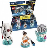 LEGO Dimensions Level Pack - Portal 2 (Sentry Turret, Chell, Companion Cube) Фигурки Lego Dimensions