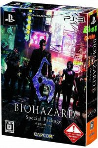 Купить игру Resident Evil 6 Special Package (PS3) на Playstation 3 диск