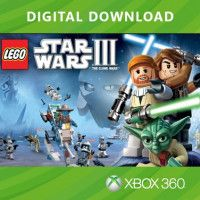 LEGO Star Wars 3 (III): The Clone Wars (Код на загрузку) (Xbox 360) для Игры