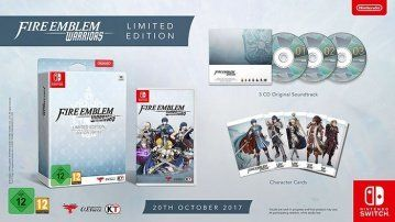 Купить игру Fire Emblem Warriors Limited Edition (Switch) диск