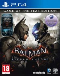 Игра Batman: Рыцарь Аркхема (Arkham Knight) Издание Игра Года (Game of the Year Edition) Русская Версия (PS4) Playstation 4