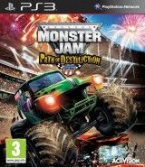 Игра Monster Jam: Path of Destruction (игра + руль) для PS3