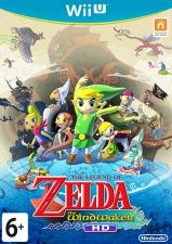 Купить игру The Legend of Zelda: The Wind Waker HD (Wii U) USED Б/У на Nintendo Wii U диск