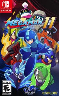 Купить игру Mega Man: 11 (Switch) диск