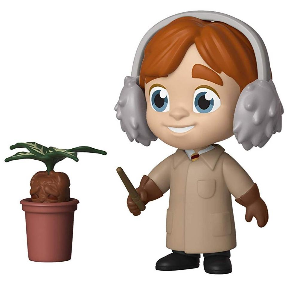 Фигурка Funko Vinyl Figure 5 Star: Гарри Поттер (Harry Potter) Рон Уизли Травология (Ron Weasley (Herbology)) (37265) 7,5 см
