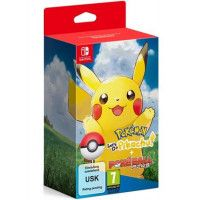 Купить игру Pokemon: Let's Go, Pikachu! + Poke Ball Plus Pack (Switch) диск