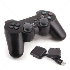 Джойстик беспроводной Wireless Controller Black Блистер PS3/PS2/PC (PS3) для Sony PlayStation 3