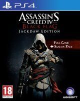 Купить Игру Assassin's Creed 4 (IV): Черный флаг (Black Flag) Jackdaw Edition Русская Версия (PS4) на Playstation 4 диск