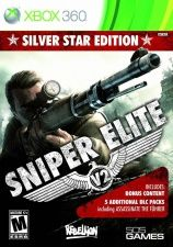 Купить Игру Sniper Elite V2 Silver Star Edition (Xbox 360/Xbox One) на Microsoft Xbox 360 диск