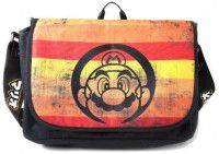 Сумка Difuzed: Nintendo: Super Mario Retro Striped Messengerbag для игровых фанатов