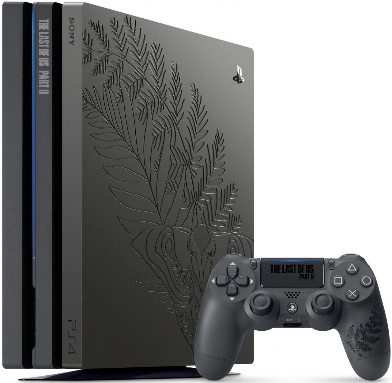 Игровая приставка Sony PlayStation 4 Pro 1Tb Eur Черная + Одни из нас 2 (The Last Of Us II) Limited Edition