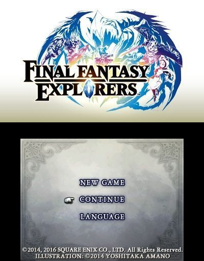 Купить игру Final Fantasy: Explorers (Nintendo 3DS) на 3DS