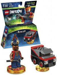 LEGO Dimensions Fun Pack The A-Team (B.A. Baracus, B.A.'s Van) Фигурки Lego Dimensions