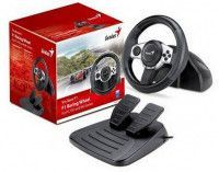 Руль Genius Trio Racer F1 Racing Wheel с педалями (PS3/WIN/Wii)