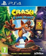 Купить Игру Crash Bandicoot N'sane Trilogy (PS4) на Playstation 4 диск