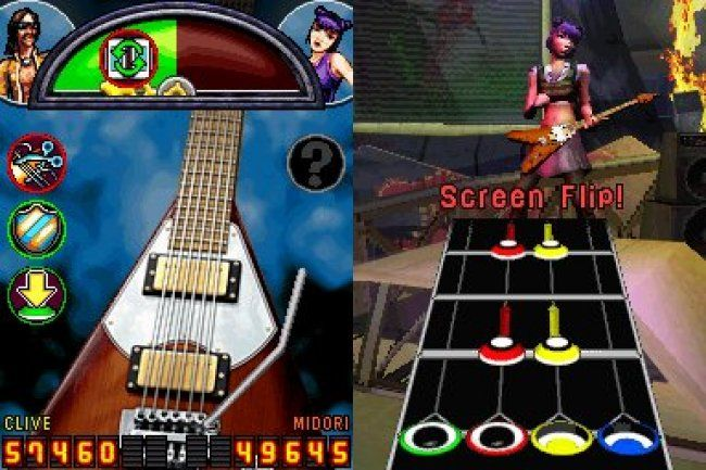 Игра Guitar Hero: On Tour 2 Decades Game (DS) для Nintendo DS