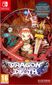 Купить игру Dragon: Marked for Death (Switch) диск
