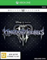 Купить Игру Kingdom Hearts III (3) Deluxe Edition (Xbox One) на Xbox One диск