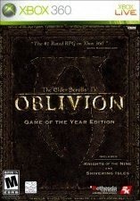 Купить Игру The Elder Scrolls 4 (IV): Oblivion. Game of the Year Edition (Xbox 360/Xbox One) на Microsoft Xbox 360 диск