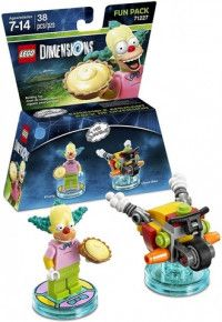 LEGO Dimensions Fun Pack - The Simpsons (Krusty, Clown Bike) Фигурки Lego Dimensions