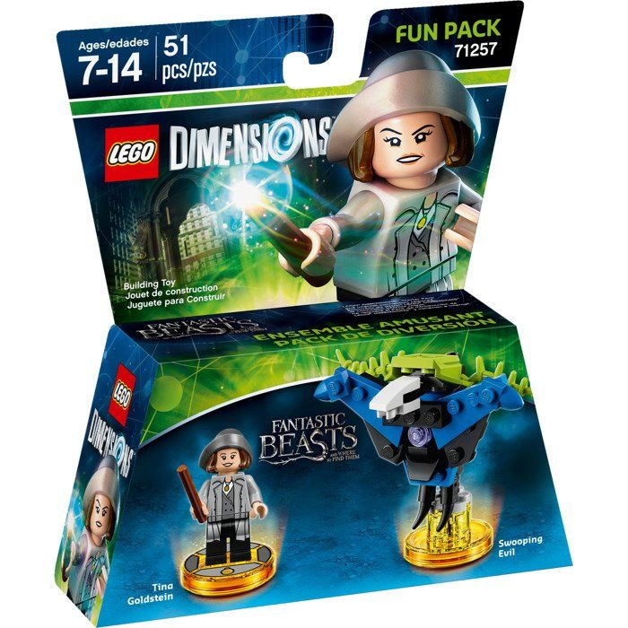 LEGO Dimensions Fun Pack Fantastic Beasts (Tina Goldstein, Swooping Evil)
