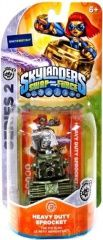 Skylanders Swap Force: Интерактивная фигурка Metallic Heavy Duty Sprocket