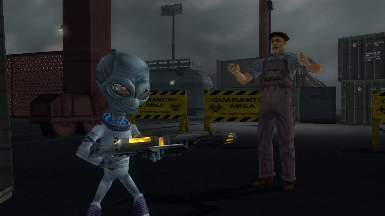 Destroy All Humans! Русская версия (PS4)