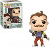 Фигурка Funko POP! Vinyl: Сосед с топором и веревкой (Neighbor with Axe and Rope) Привет, сосед (Hello Neighbor) (24799) 10 см Остальные