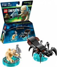 LEGO Dimensions Fun Pack The Lord of the Ring (Gollum, Shelob the Great) Фигурки Lego Dimensions