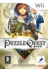 Игра Puzzle Quest Challenge of the Warlords для Nintendo Wii