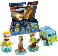 LEGO Dimensions Team Pack Scooby Doo (Scooby Snack. Scooby-Doo, Shaggy, Mystery Machine) Фигурки Lego Dimensions