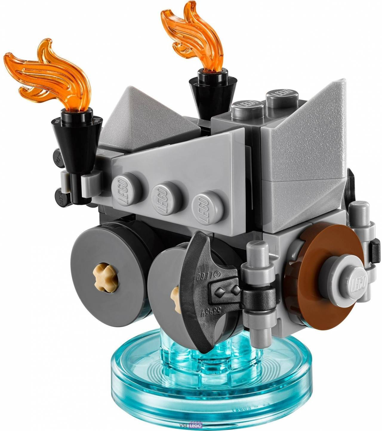 LEGO Dimensions Fun Pack The Lord of the Ring (Gimli, Axe Chariot)