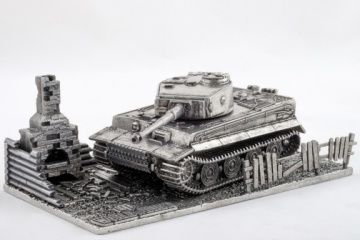 Модель танка Tiger I, масштаб 1:72 World of Tanks (Т005)