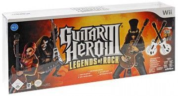 Купить Guitar Hero: 3 (III) Legends of Rock + 2 гитары (Wii) для Nintendo Wii