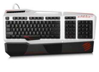 Клавиатура Mad Catz S.T.R.I.K.E.TE (Tournament Edition) Механическая RUS (White) (PC)