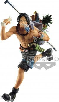 Фигурка Banpresto THREE BROTHERS FIGURE: Портгас Д. Эйс (Portgas D Ace) Ван-Пис (One Piece) (BP16140P) 14 см