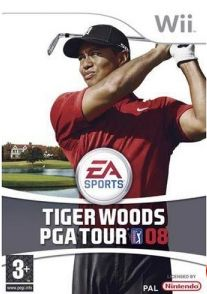 Tiger Woods PGA Tour 08 (Wii) для Игры