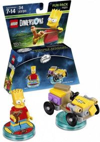 LEGO Dimensions Fun Pack Simpsons (Bart, Gravity Sprinter) Фигурки Lego Dimensions