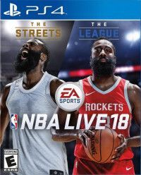Игра NBA Live 18 (PS4) Playstation 4
