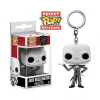 Купить Брелок Funko Pocket POP! Keychain: Джек Скеллингтон (Jack Skellington) NBC (Кошмар перед Рождеством) (5315-PDQ) 4 см