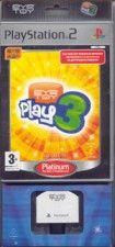 Купить Игру EyeToy: Play 3 Platinum (Рус. Док.) + Камера (PS2) для Sony PS2 диск