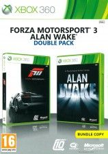 Forza Motorsport 3 / Alan Wake Double pack (Xbox 360) USED Б/У