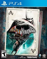 Игра Batman: Return to Arkham Русская Версия (PS4) Playstation 4