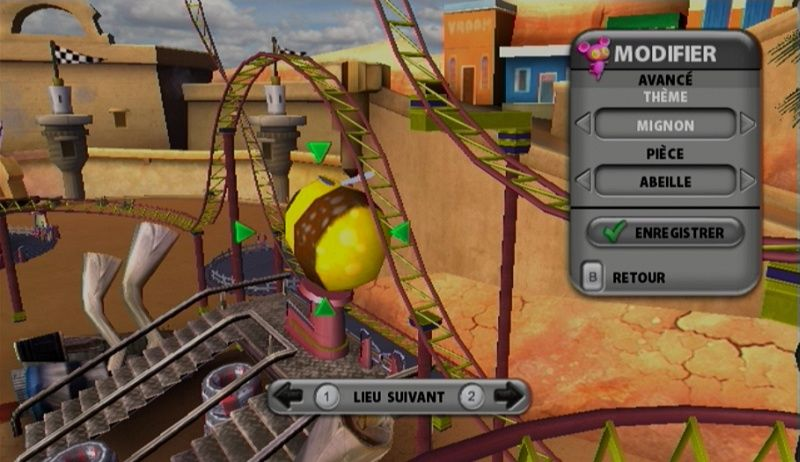Купить игру Thrillville: off the Rails (Wii/WiiU) на Nintendo Wii диск