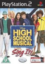 High School Musical: Sing It For Sing Star + Микрофон (PS2)