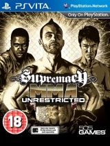Игра Supremacy MMA: Unrestricted (PS Vita) для Sony PlayStation Vita