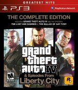 Купить игру GTA: Grand Theft Auto 4 (IV) The Complete Edition (PS3) на Playstation 3 диск
