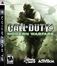 Купить игру Call of Duty 4: Modern Warfare (PS3) на Playstation 3 диск