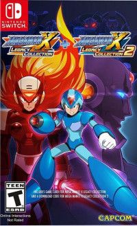 Купить игру Mega Man: X Legacy Collection 1 + 2 (Switch) диск
