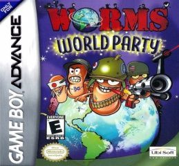 Worms World Party Русская Версия (GBA)